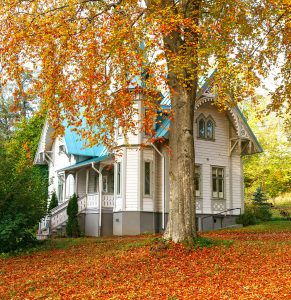 Autumn House Jigsaw Puzzle