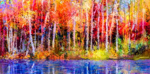 Autumn Painting Jigsaw Puzzle