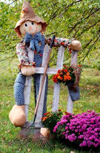 Autumn Scarecrow Jigsaw Puzzle