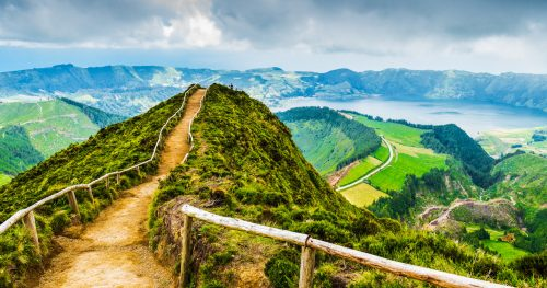 Azores Path Jigsaw Puzzle