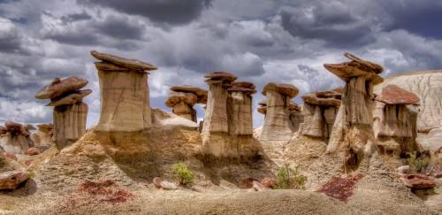 Badlands Desert Hoodoos Jigsaw Puzzle