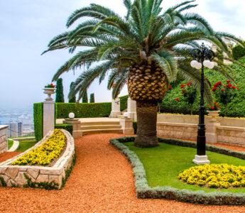 Bahai Gardens Jigsaw Puzzle