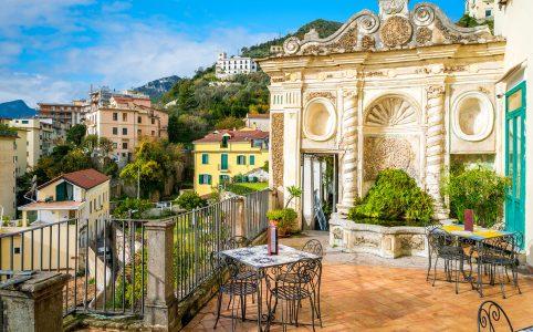 Balcony View Jigsaw Puzzle