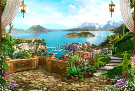 Balcony Vista Jigsaw Puzzle