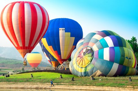 Balloon Launch Jigsaw Puzzle