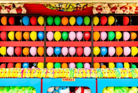 Balloon Pop Game Jigsaw Puzzle