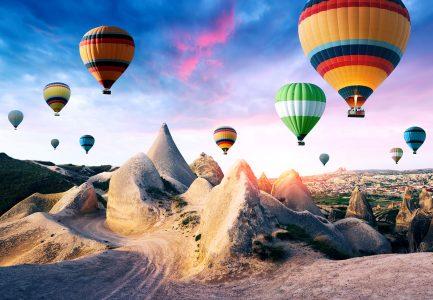 Balloons Over Cappadocia Jigsaw Puzzle