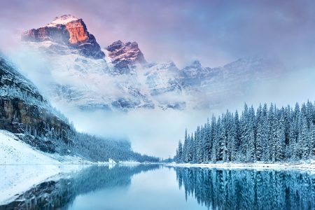 Banff in Winter Jigsaw Puzzle