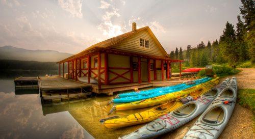 Banff Kayaks Jigsaw Puzzle