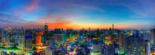 Bangkok Sunset Jigsaw Puzzle
