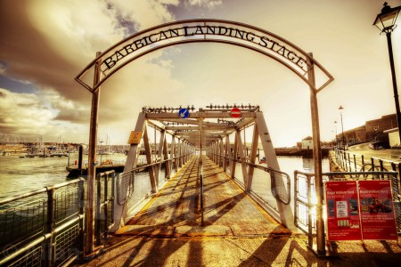 Barbican Landing Stage Jigsaw Puzzle