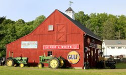Barn and Tractors