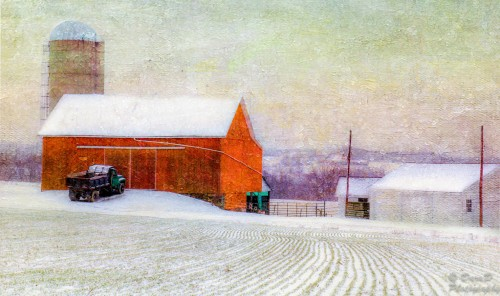 Barn and Truck Jigsaw Puzzle