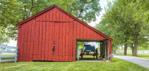 Barn and Wagon Jigsaw Puzzle