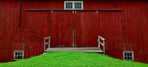 Barn Doors Jigsaw Puzzle