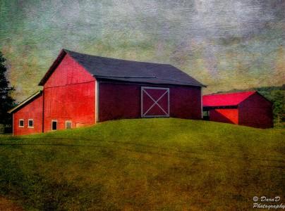 Barn on a Knoll Jigsaw Puzzle