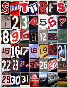 Baseball Calendar Jigsaw Puzzle