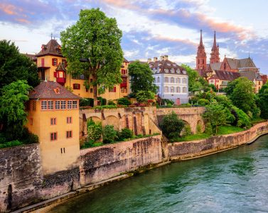 Basel on the Rhine Jigsaw Puzzle