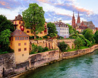Basel on the Rhine Jigsaw Puzzle