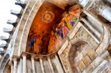 Basilica Fresco Jigsaw Puzzle