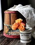 Basket and Roses
