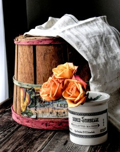 Basket and Roses Jigsaw Puzzle