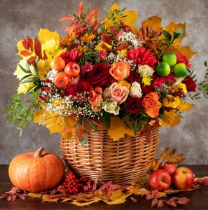 Basket Bouquet Jigsaw Puzzle
