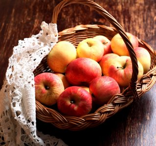Basket of Apples Jigsaw Puzzle