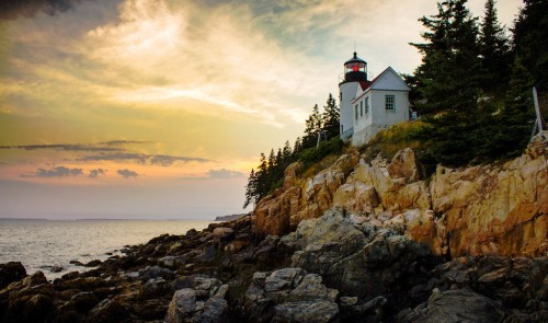 Bass Harbor Lighthouse Jigsaw Puzzle