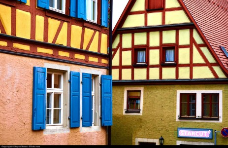 Bavarian Architecture Jigsaw Puzzle