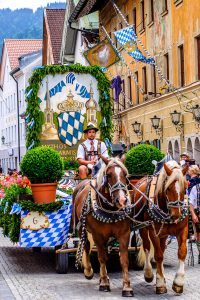 Bavarian Pageant Jigsaw Puzzle
