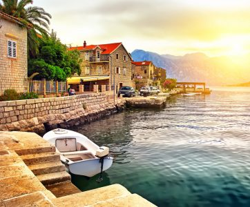 Bay of Kotor Jigsaw Puzzle