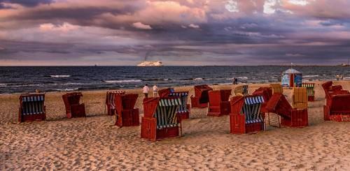 Beach Chairs Jigsaw Puzzle