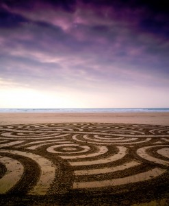 Beach Circles Jigsaw Puzzle