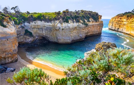 Beach Cove Jigsaw Puzzle