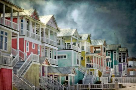 Beach Homes Jigsaw Puzzle