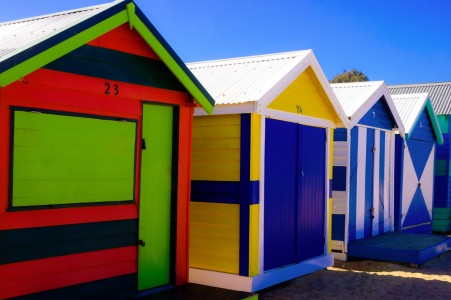Beach Huts Jigsaw Puzzle