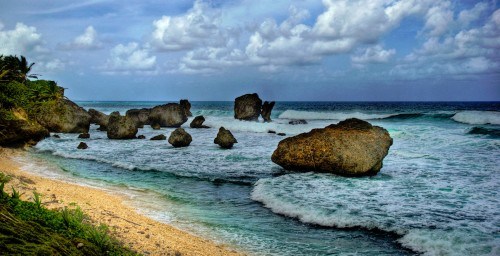 Beach Rocks Jigsaw Puzzle