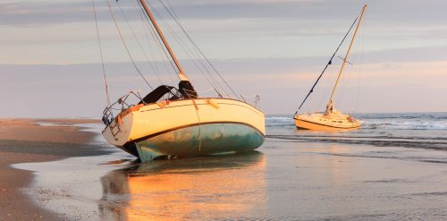 Beached Sailboats Jigsaw Puzzle