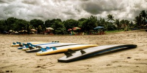 Beached Surfboards