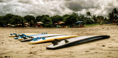 Beached Surfboards Jigsaw Puzzle