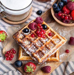 Belgian Waffles Jigsaw Puzzle