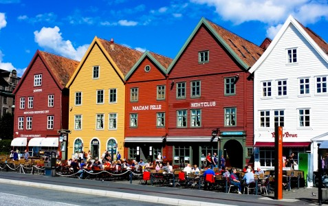 Bergen Cafe Jigsaw Puzzle