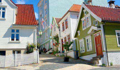 Bergen Houses Jigsaw Puzzle