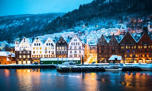 Bergen Winter Jigsaw Puzzle
