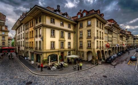 Bern Cafe Jigsaw Puzzle