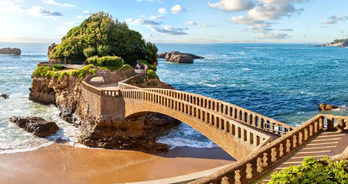 Biarritz Island Jigsaw Puzzle