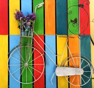 Bicycle Colors Jigsaw Puzzle