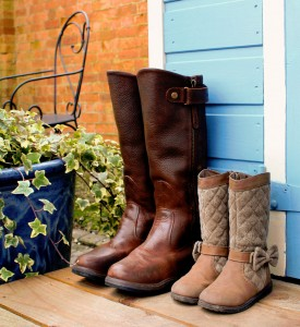 Big Boots, Little Boots Jigsaw Puzzle