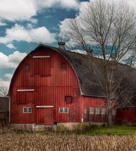 Big Red Barn Jigsaw Puzzle